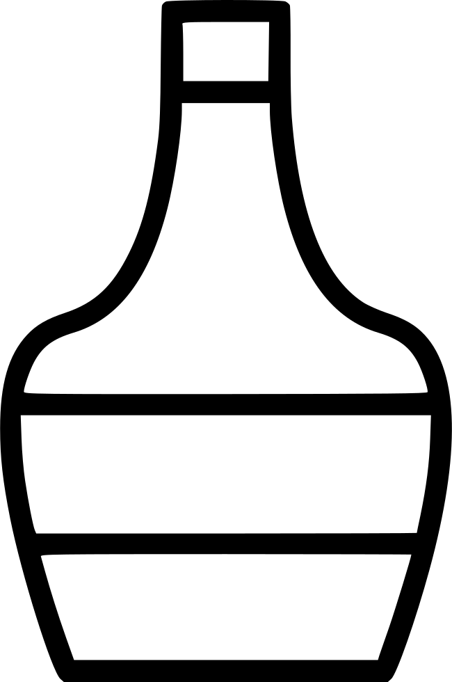 Svg png icon free. Drinking clipart brandy bottle