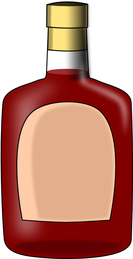 Drinking clipart brandy bottle. By peritustraining on deviantart