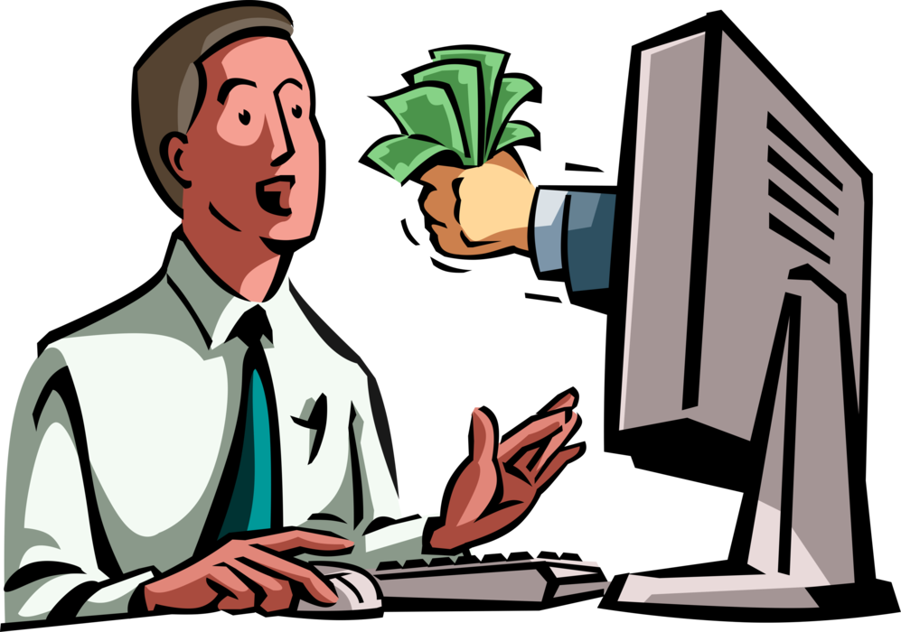 Drinking clipart business man. Dollar bill incentive offered