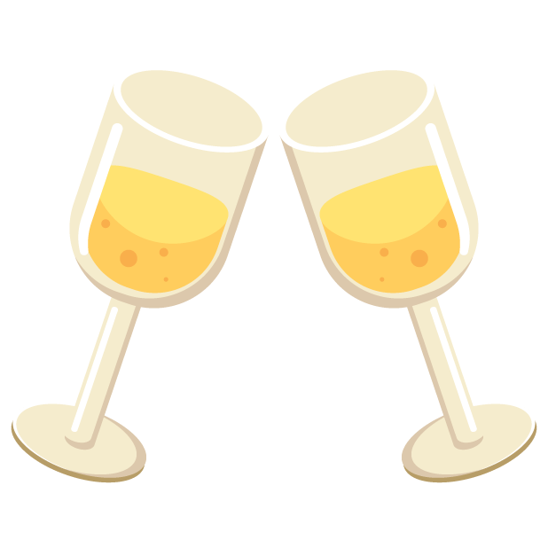 Happy new years celebrations. Drinking clipart champagne