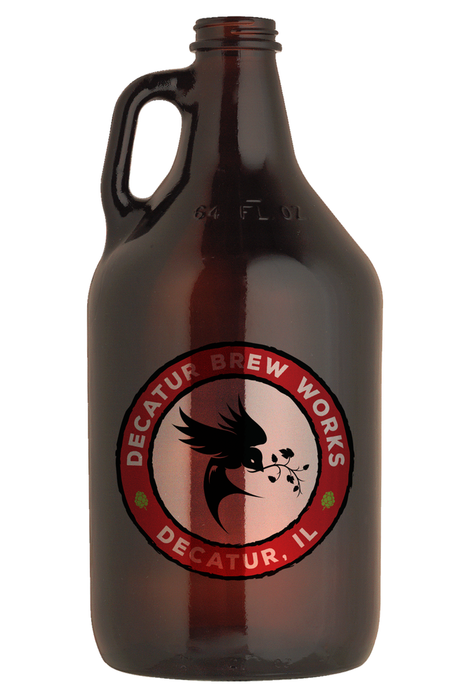 Drinking clipart craft beer bottle. Decatur brew works by