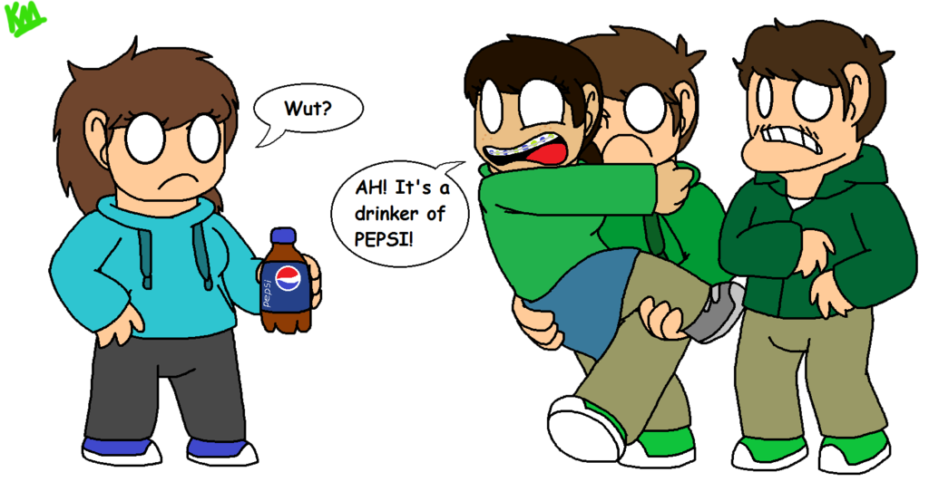 Drinking clipart drinker. Dreaded pepsi rq by