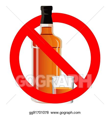 Vector art bottle of. Drinking clipart no alcohol