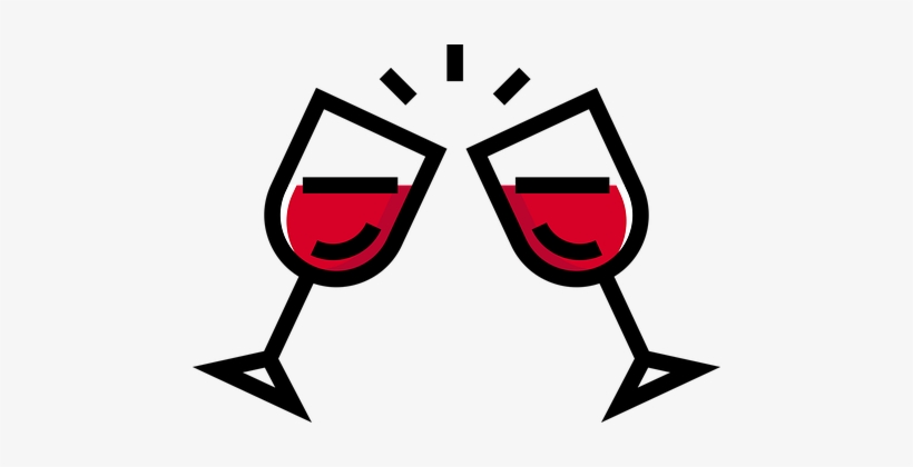 Drinking clipart red wine. Party glass let s