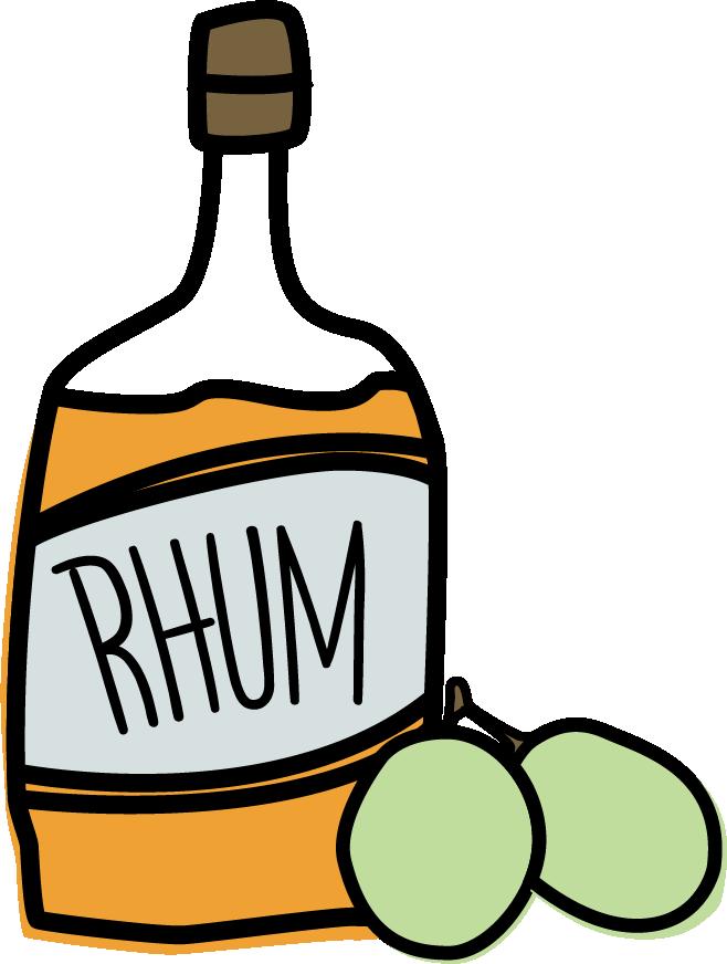 Drinking clipart rum. Raisin ice cream scaramouche