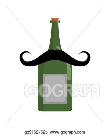 Clip art vector old. Drinking clipart vintage wine bottle