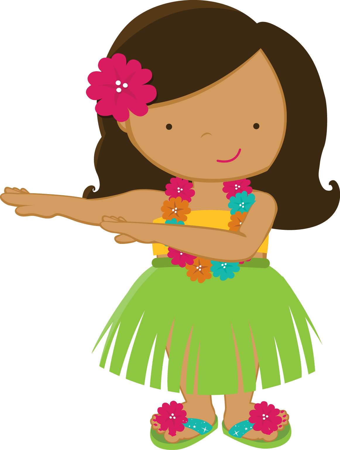 Luau clipart back to school. For kids oh my