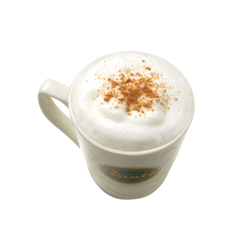 Drinks clipart milk powder. Cappuccino png images free