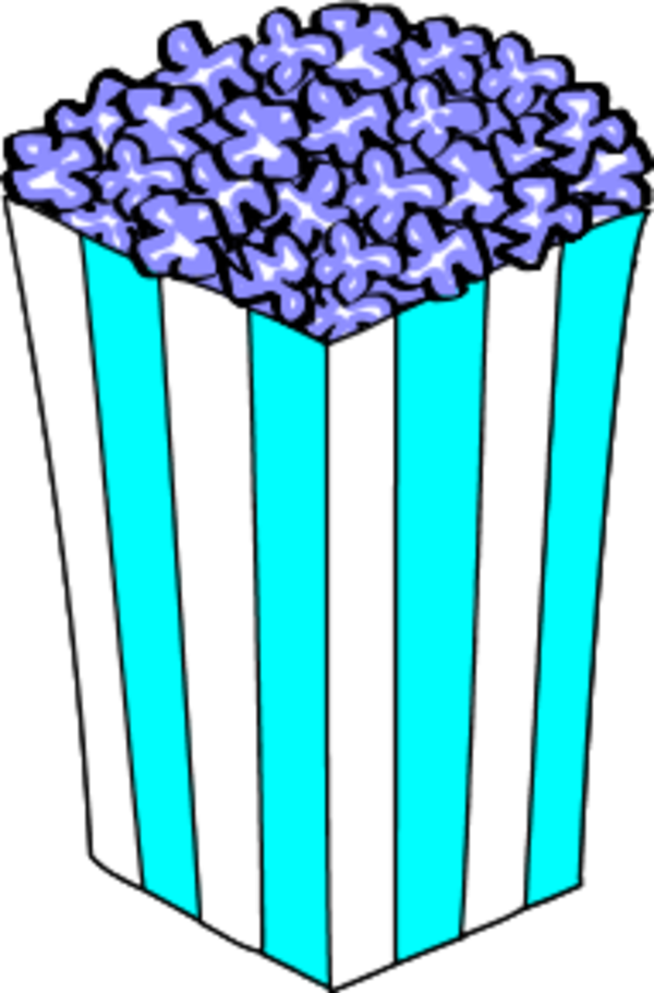 Container pencil and in. Drinks clipart popcorn