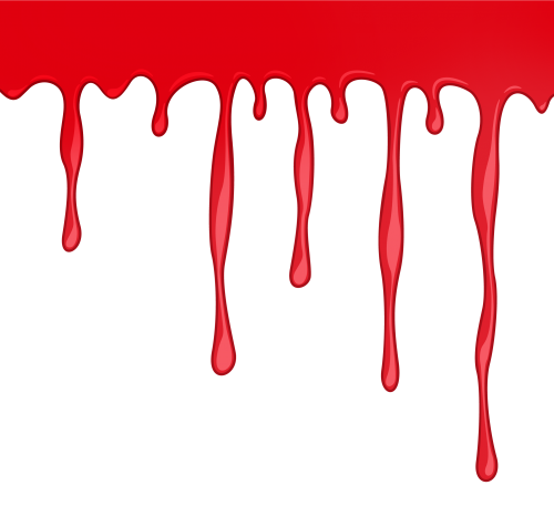 Transparent image pngpix. Dripping blood png