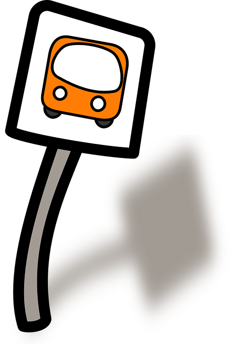 Driver clipart bus interchange. Driving stop sign free
