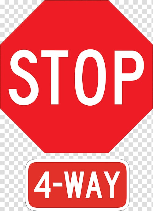 Driver clipart bus stop sign. All way traffic signage