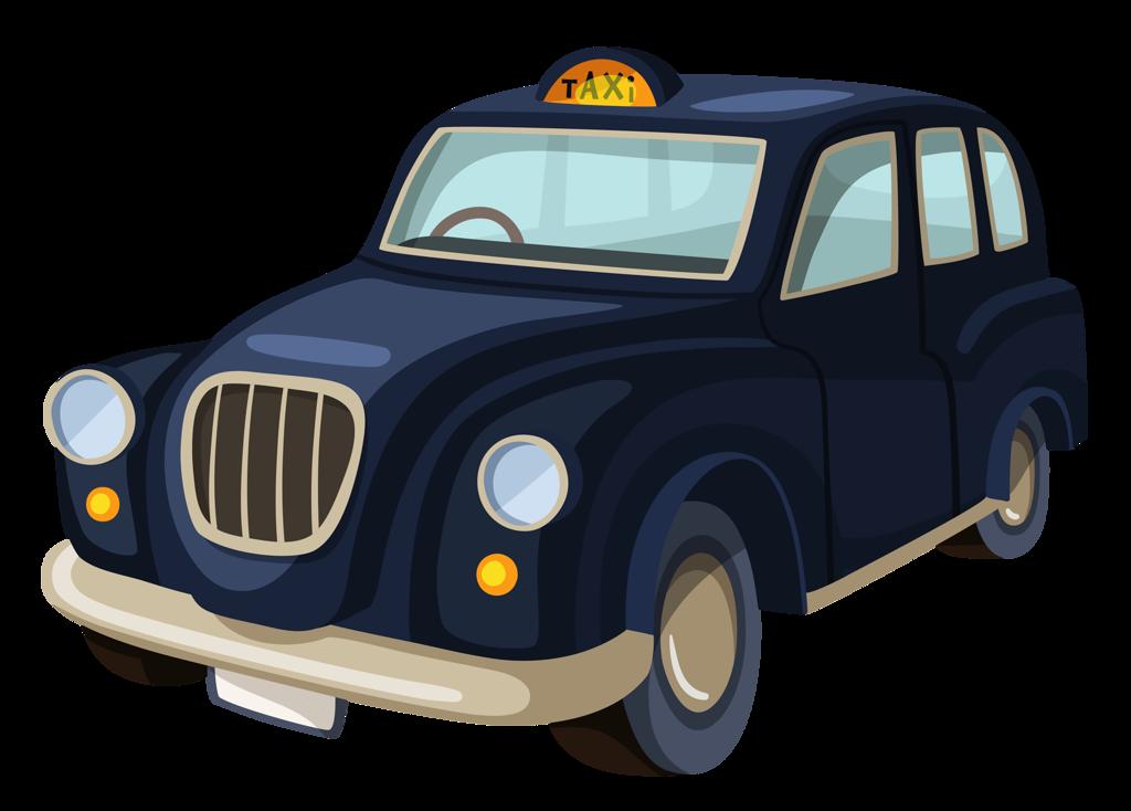 Driver clipart cab driver. Taxi vector illustration