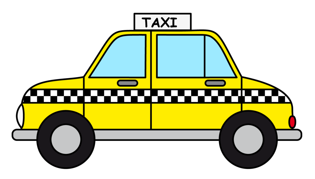 collection of taxi. Driver clipart cab driver