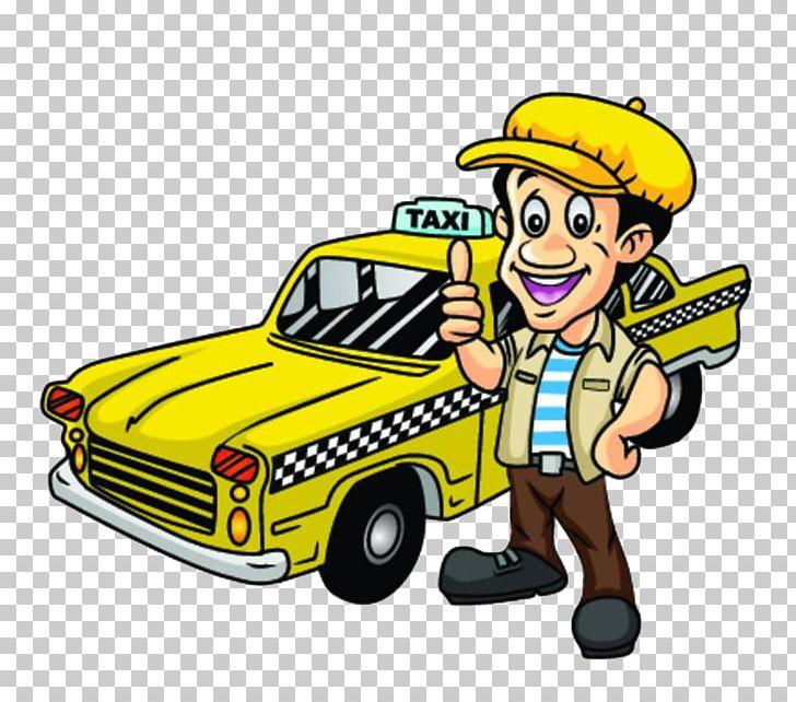Taxi driving png automotive. Driver clipart cartoon