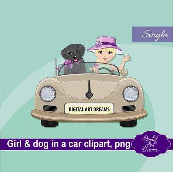 Car characters clip art. Driver clipart cute