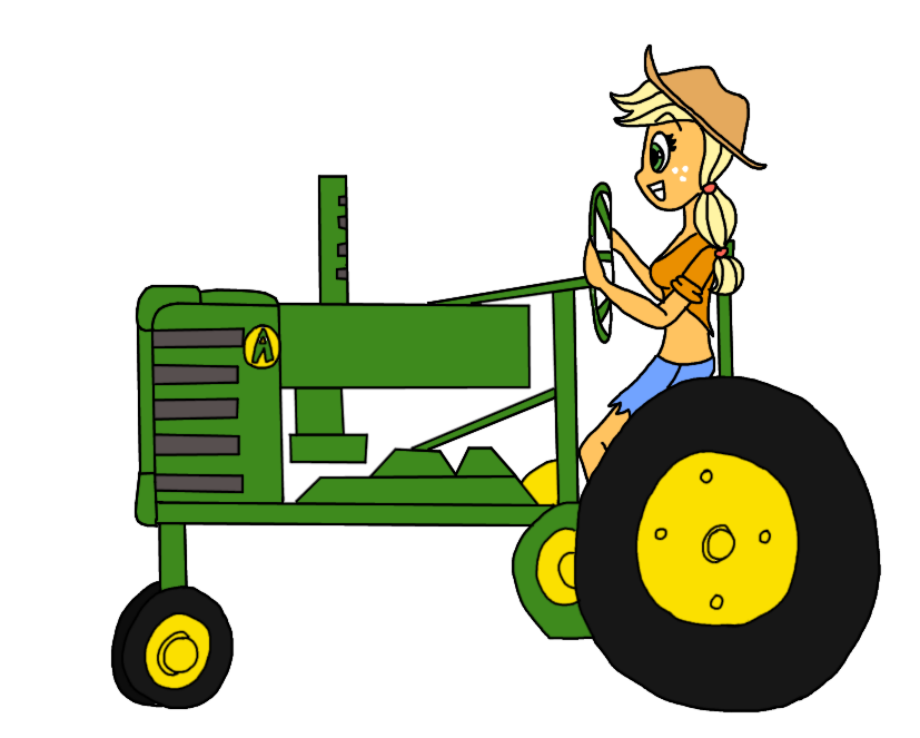 Tractor drive a free. Driver clipart cute