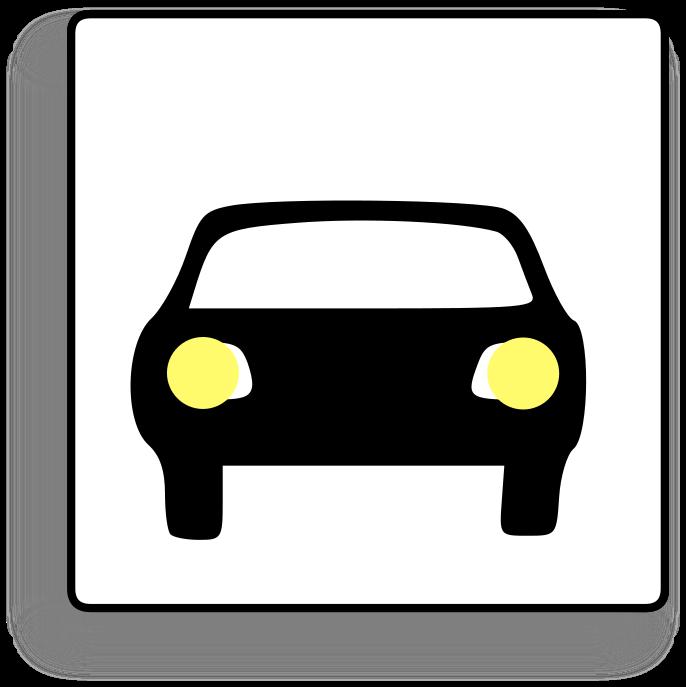 Car icon transparent . Driver clipart defensive driving