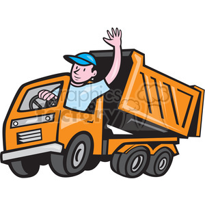 Driver clipart delivery driver. Truck royalty free images
