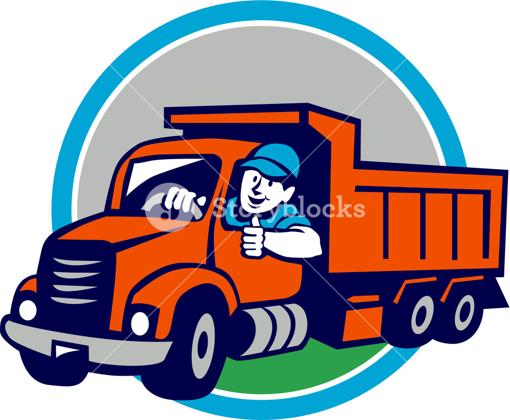 Truck free download best. Driver clipart delivery driver