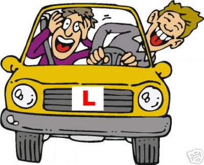 Driver clipart driving lesson. Free drivers test cliparts