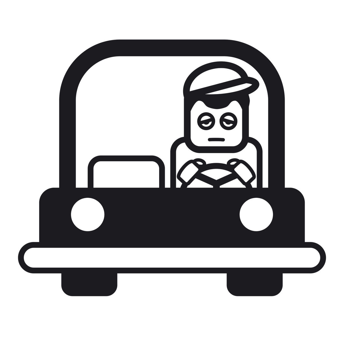 Driver clipart drowsy driving. Employee noteboard braun valley