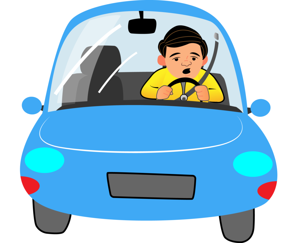 Driver clipart drowsy driving. Png pic free download