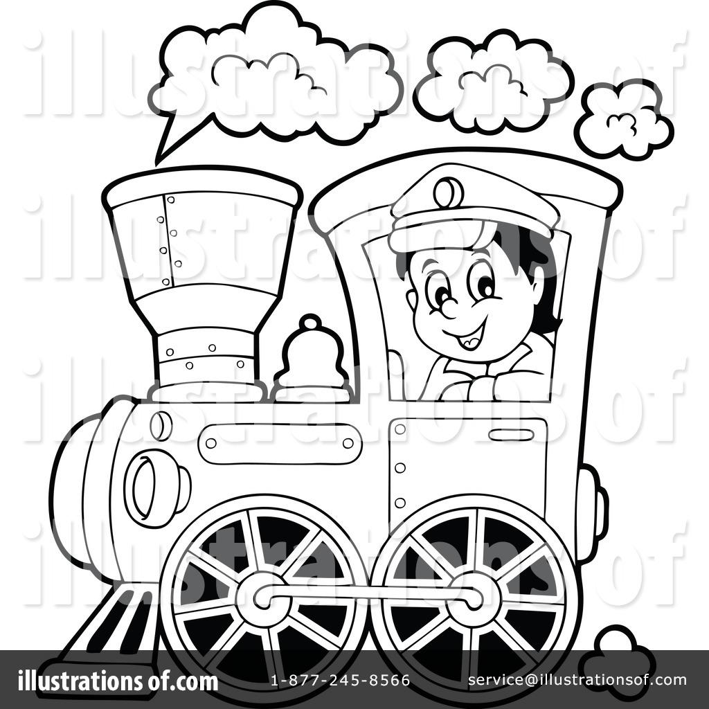 Engine clipart engine driver. Train illustration by visekart