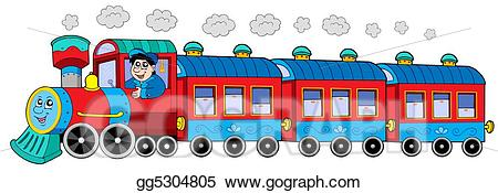 Engine clipart engine driver. Steam locomotive with and