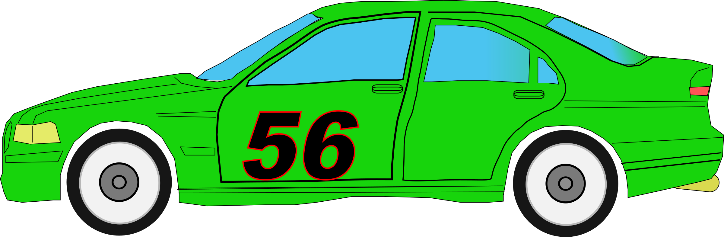 Race driver at getdrawings. Minivan clipart green car