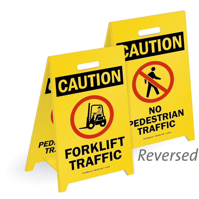 Driver clipart forklift. Safety signs mysafetysign com