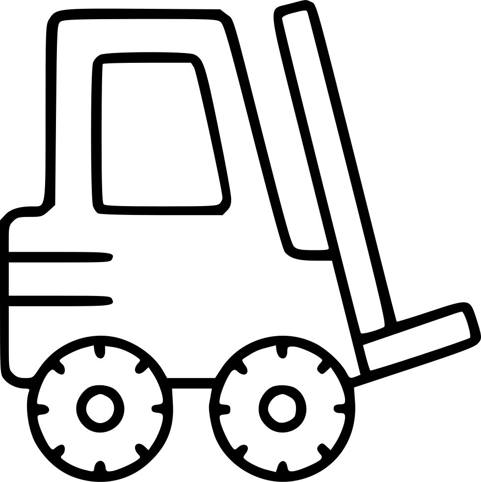 Forklift clipart warehouse worker. Drawing at getdrawings com