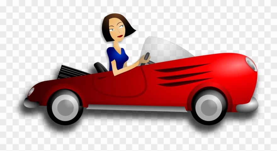 Female png download . Driver clipart girl driver