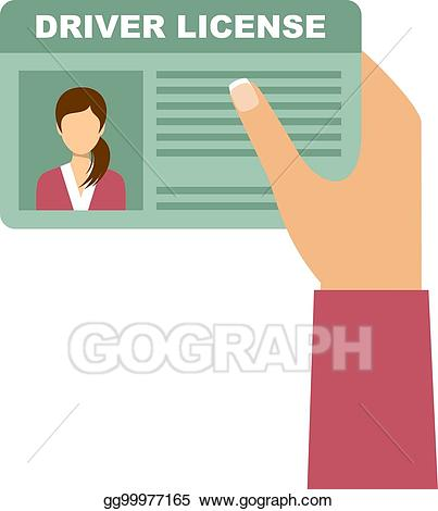 Eps illustration woman holding. Driver clipart hand on
