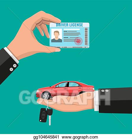 Driver clipart hand on. Vector art license in