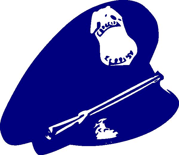 Worm clipart hat. Police man clip art