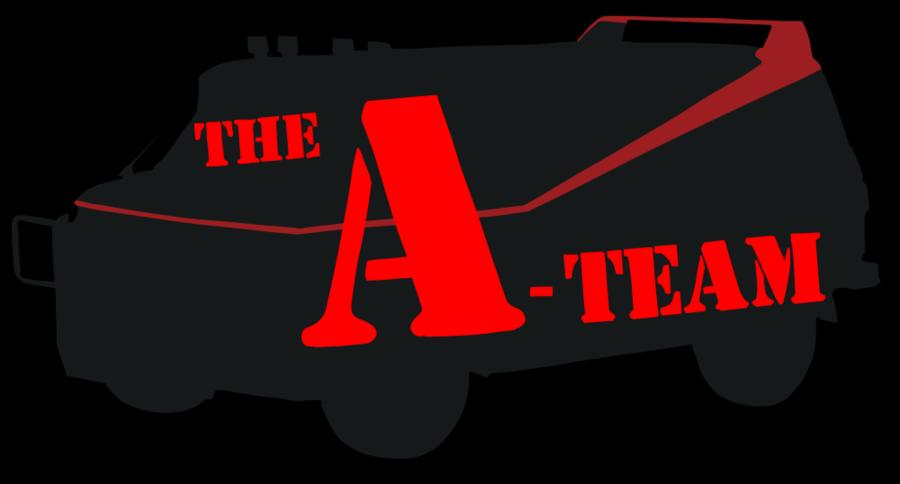Driver clipart horsepower. The a team logo