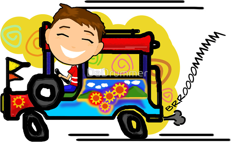 Driver clipart jeepney driver. Station