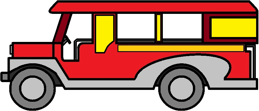 collection of filipino. Driver clipart jeepney driver