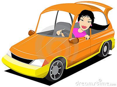 Stock vector panda free. Driver clipart lady