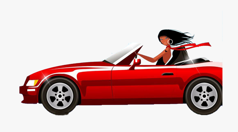 Driving clipart car owner. Black woman