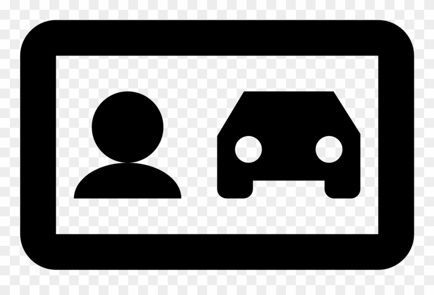 Driver clipart liscense. License icon car pinclipart