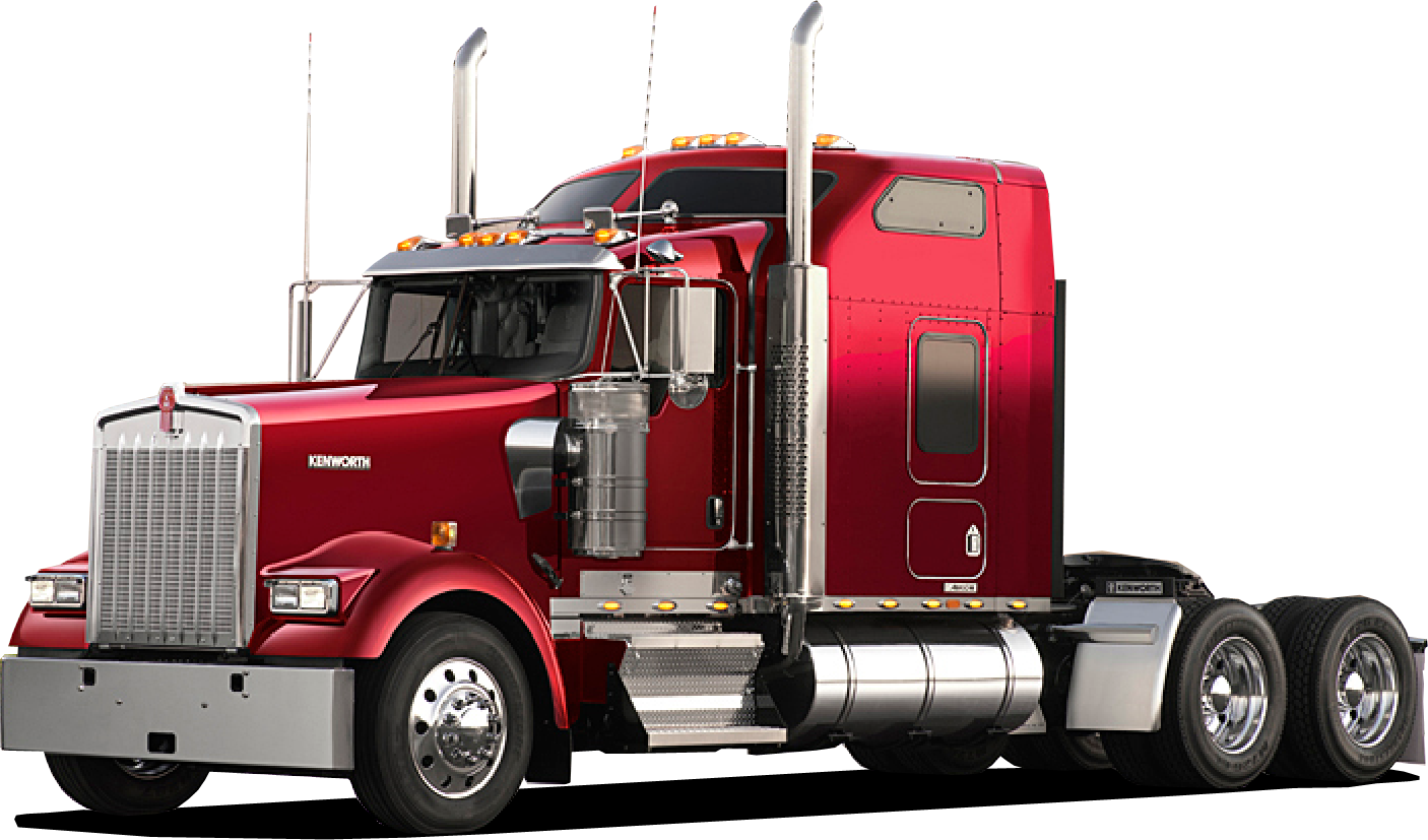 red clipart semi truck #140603912