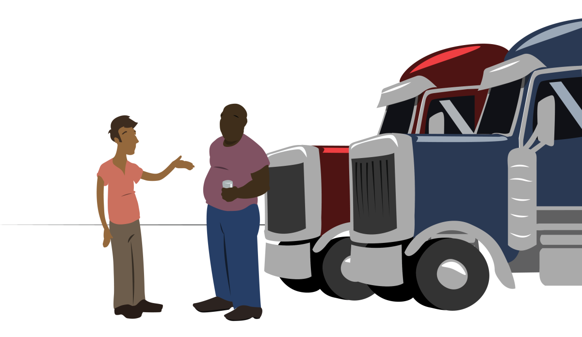 Truck cliparthut free drivers. Driver clipart lorry driver
