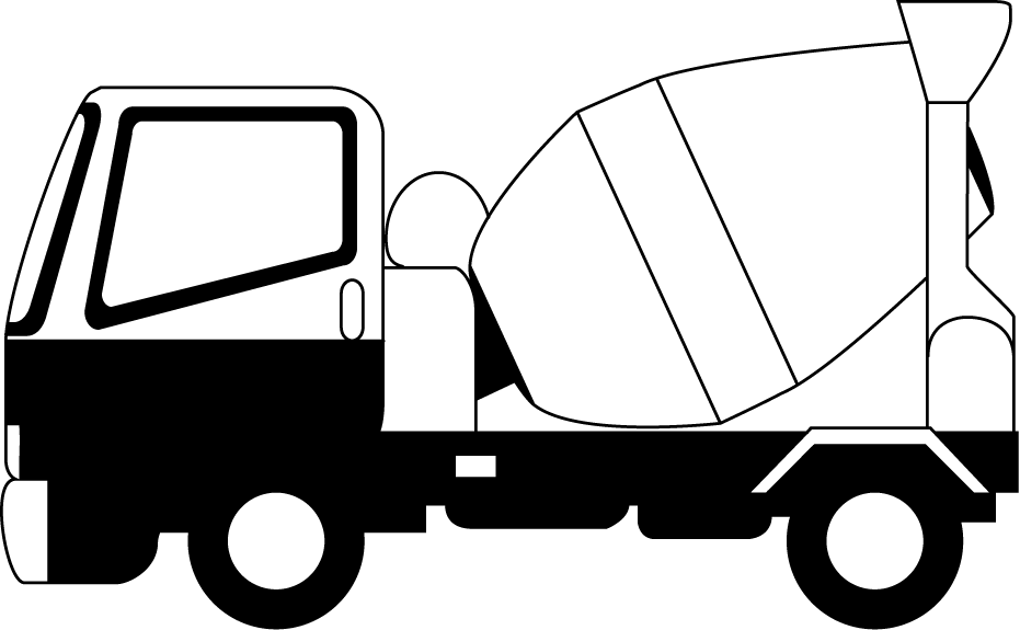 Driver clipart lorry driver. Cement truck collection clip