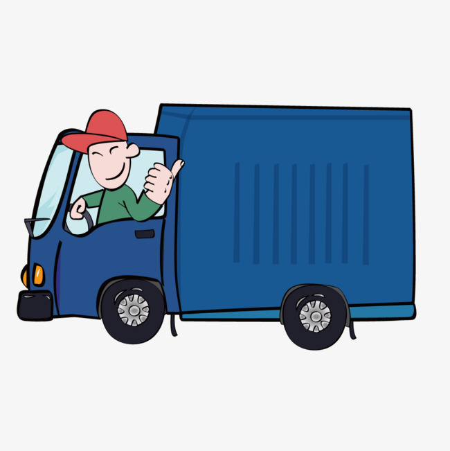 Truck station . Driver clipart lorry driver