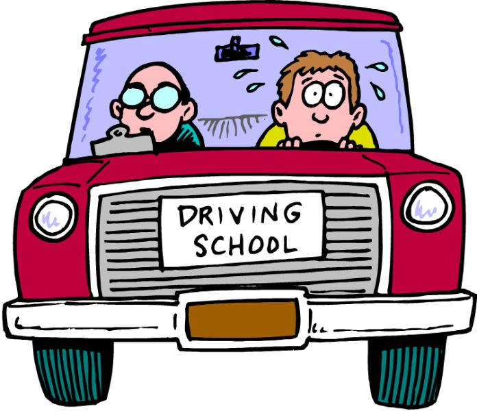 Whitefish high school . Driver clipart of course