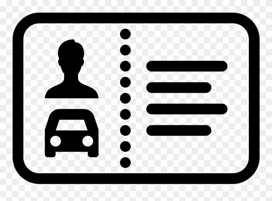 Drivers license clipart clip art. Icon free download banner