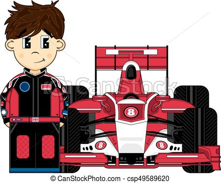 Driver clipart racer. Race car drawing at