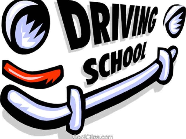 Driving to images gallery. Driver clipart school